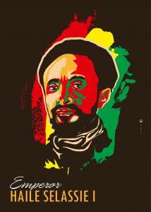 Haile Selassie by Maria Papaefstathiou, aka It's Just Me