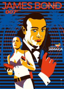 James Bond poster by Maria Papaefstathiou aka It's Just Me